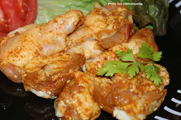 Manchon Poulet Curry
